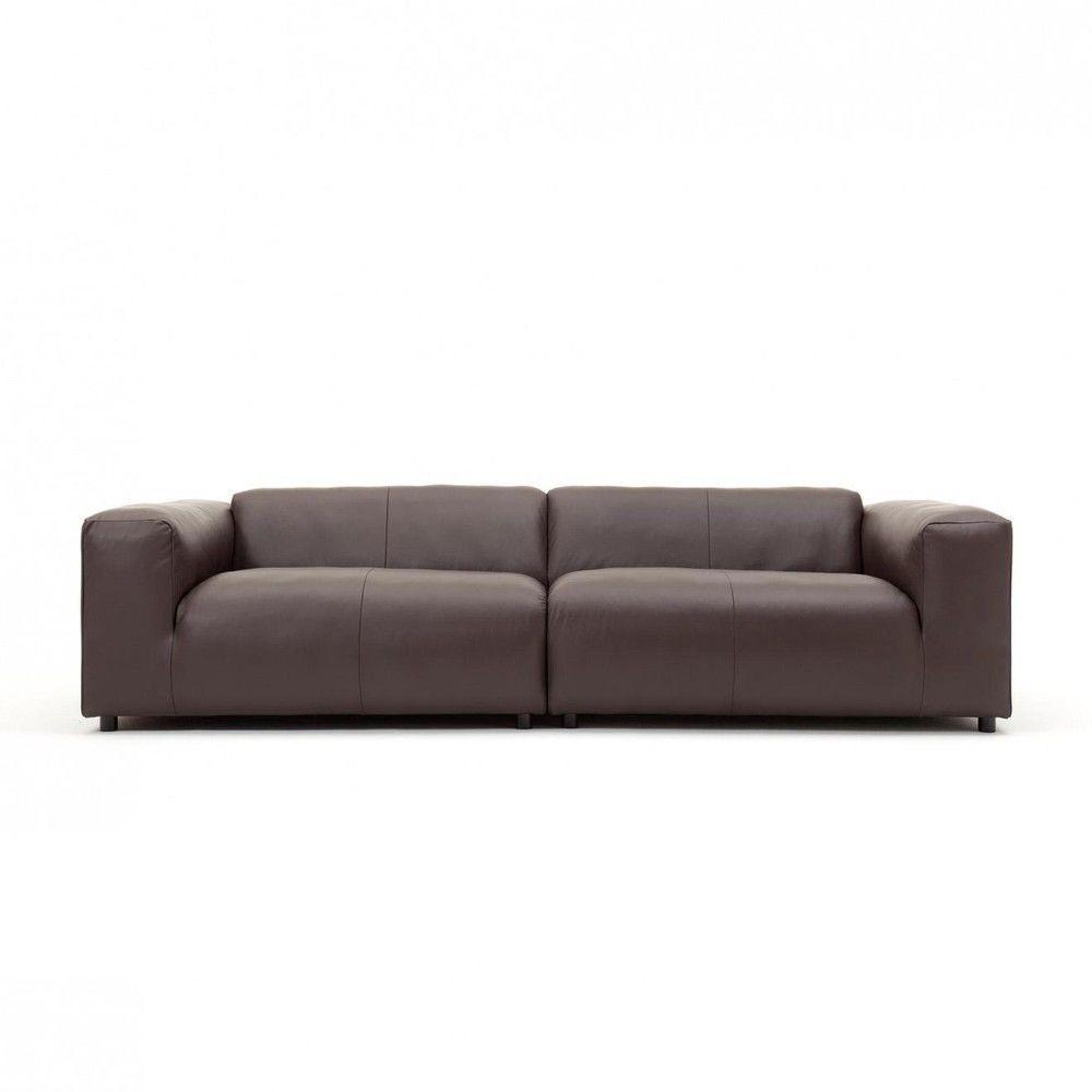 freistil 187 3 seater leather sofa freistil rolf benz. Black Bedroom Furniture Sets. Home Design Ideas