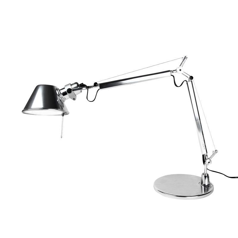 tolomeo micro chrom office lamp artemide. Black Bedroom Furniture Sets. Home Design Ideas
