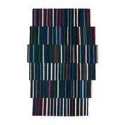 Nanimarquina - Lattice 1 Wollteppich 246x400cm - blau/grün/rot/beige/Kilim:100% afghanische Wolle/Dichte: 156.000 Knoten/m2/H: 4mm / Gewicht:1,4 kg/m2