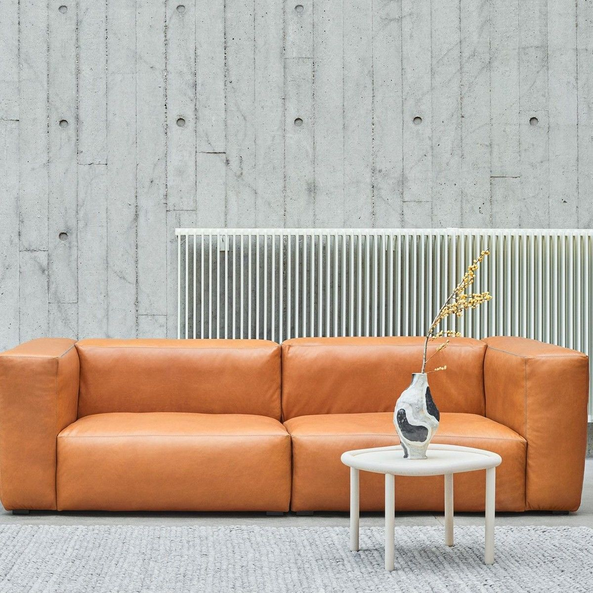 Mags Soft 2 5 Seater Leather Sofa Hay Ambientedirect Com