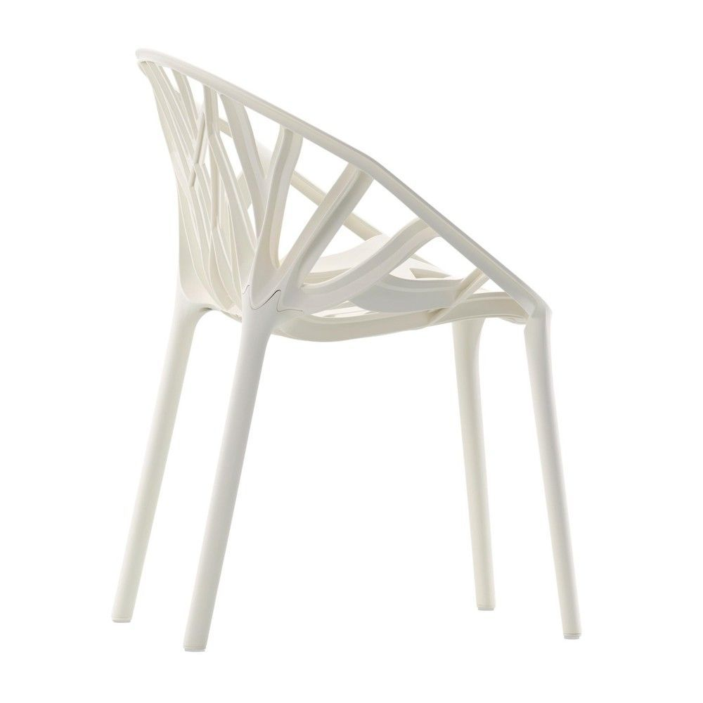 Vegetal chaise de jardin vitra for Chaise quadrillage