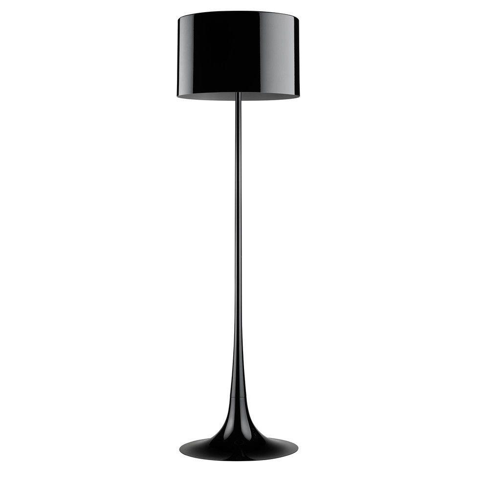 lampadaire noir lampadaire filaire melia noir en mtal. Black Bedroom Furniture Sets. Home Design Ideas