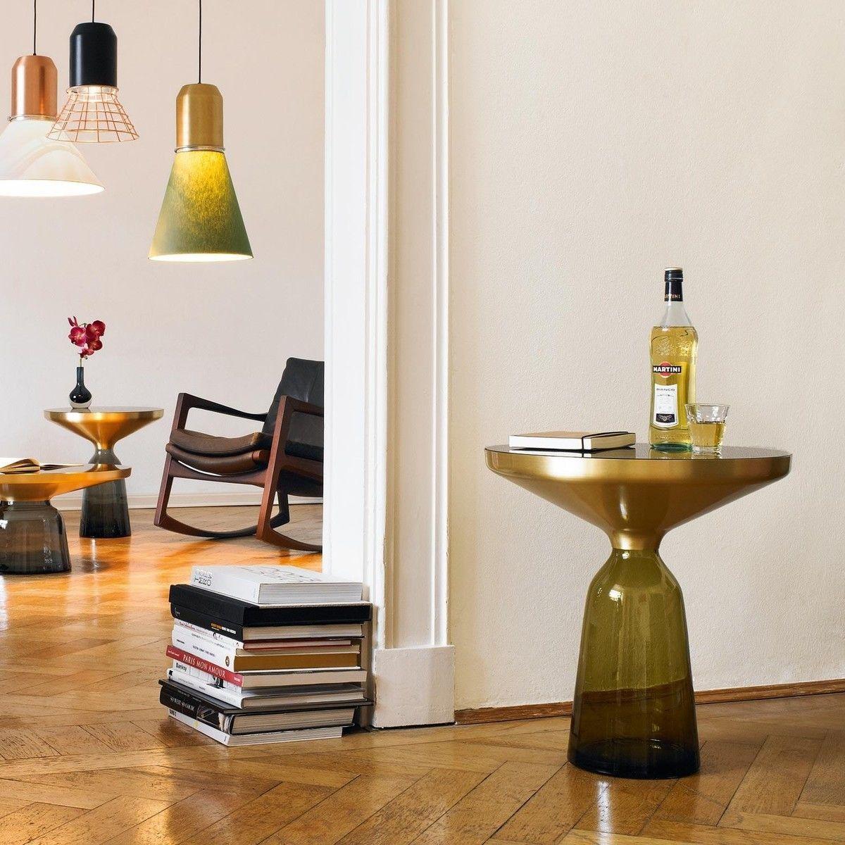 bell beistelltisch messing classicon. Black Bedroom Furniture Sets. Home Design Ideas