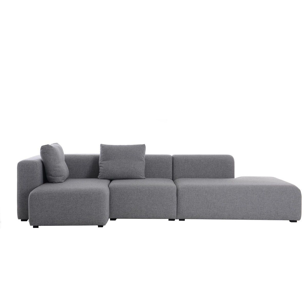 mags lounge canap chaise longue gauche hay. Black Bedroom Furniture Sets. Home Design Ideas