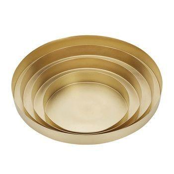 - Orbit Trays Brass Schalen Set 4 tlg. L -