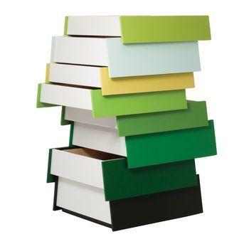 Established & Sons - Stack - Kommode - groen/8 extracten
