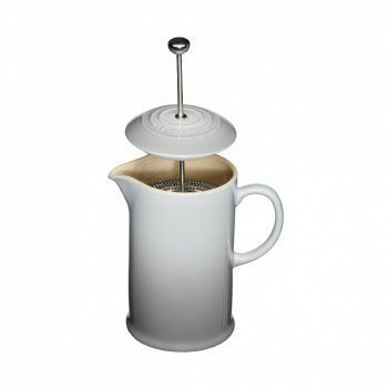 Le Creuset - Le Creuset Kaffeebereiter - grau/Auch für Mikrowelle & Gefrierschrank geeignet/H22/1.0l