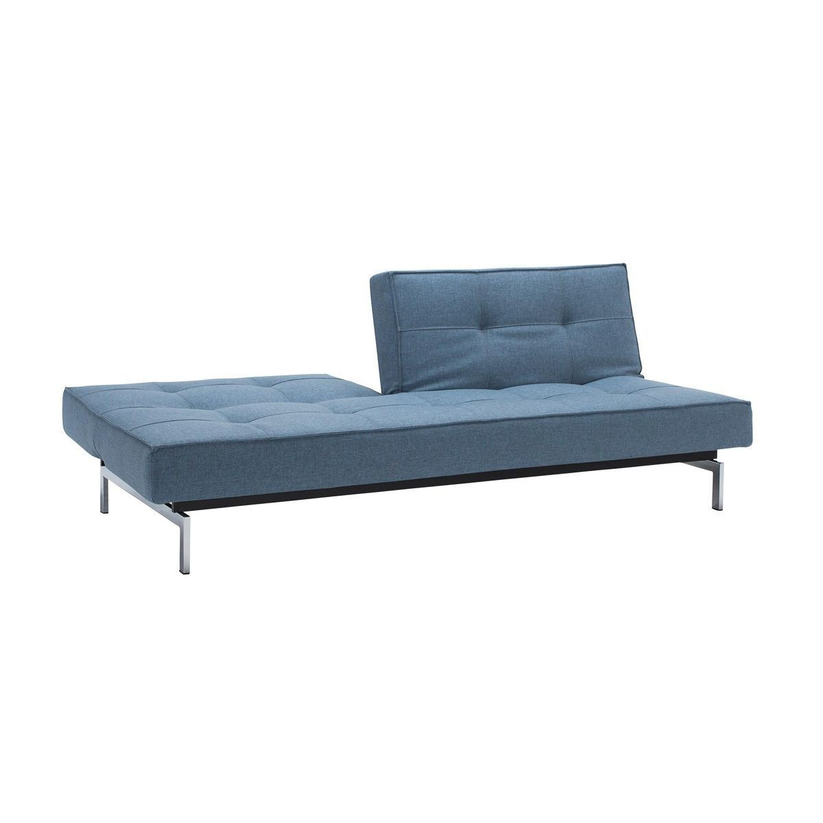 splitback sofa bed chrome  innovation  sofas  ambientedirectcom - innovation  splitback sofa bed