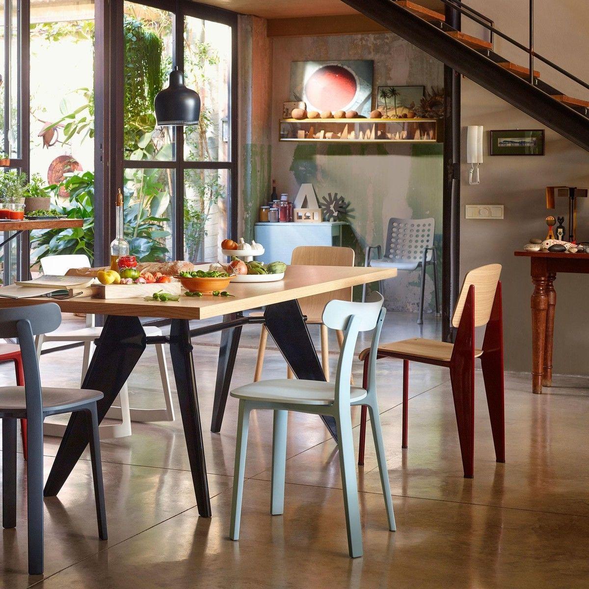 Standard stuhl vitra for Esstisch vitra