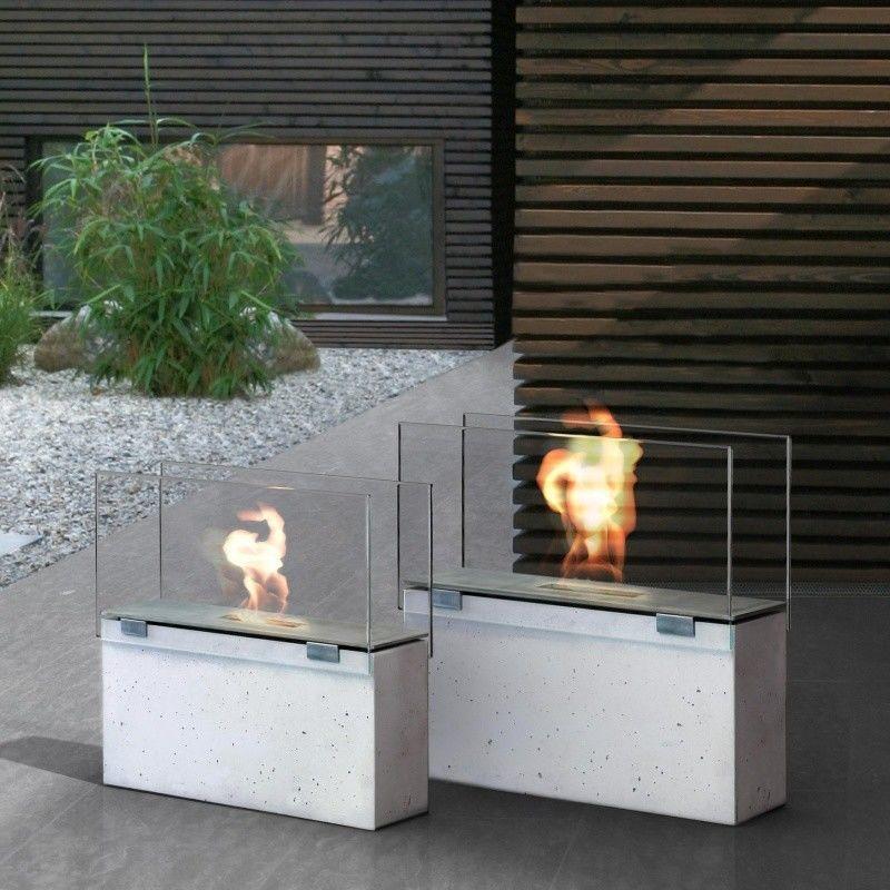 muro chemin e au bio thanol conmoto barbecues. Black Bedroom Furniture Sets. Home Design Ideas