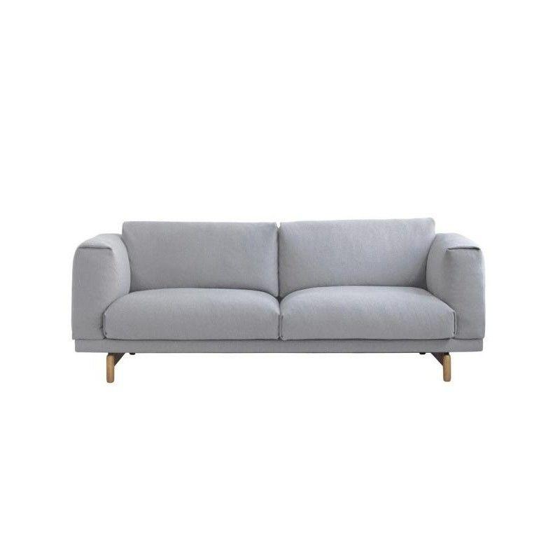 Muuto - Muuto Rest 2 Seater Sofa - light ...