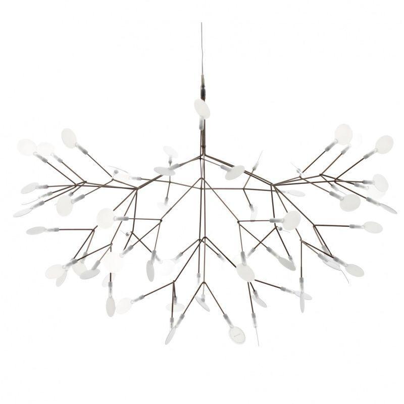 Heracleum lustre suspension lamp moooi suspension for Suspension lustre