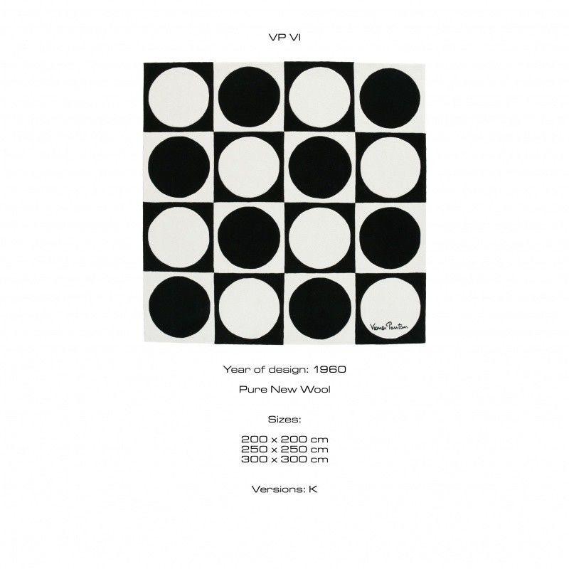 vp 6 verner panton tapis designercarpets. Black Bedroom Furniture Sets. Home Design Ideas