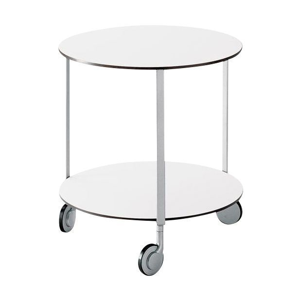 gir castor mounted table with wheels zanotta. Black Bedroom Furniture Sets. Home Design Ideas