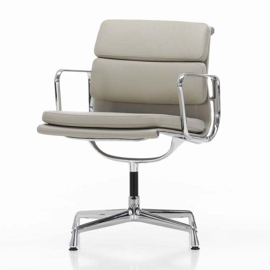Ea 208 soft pad eames chair chaise de bureau vitra for Chaise eames cuir