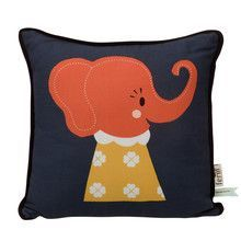 ferm LIVING - Elle Elephant Kinderkissen 30x30cm