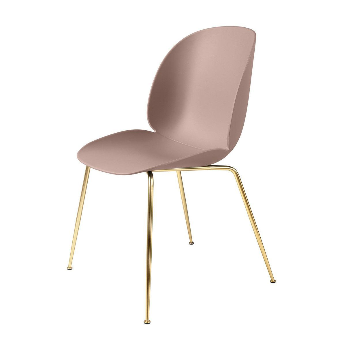 beetle dining chair stuhl gestell messing gubi. Black Bedroom Furniture Sets. Home Design Ideas