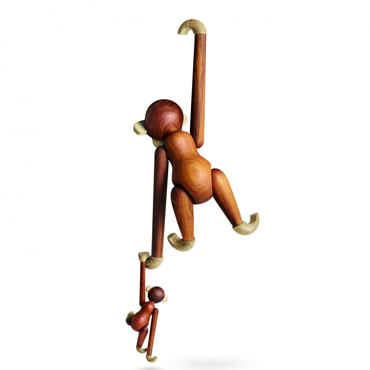 kay bojesen wooden figurine monkey small kay bojesen denmark. Black Bedroom Furniture Sets. Home Design Ideas