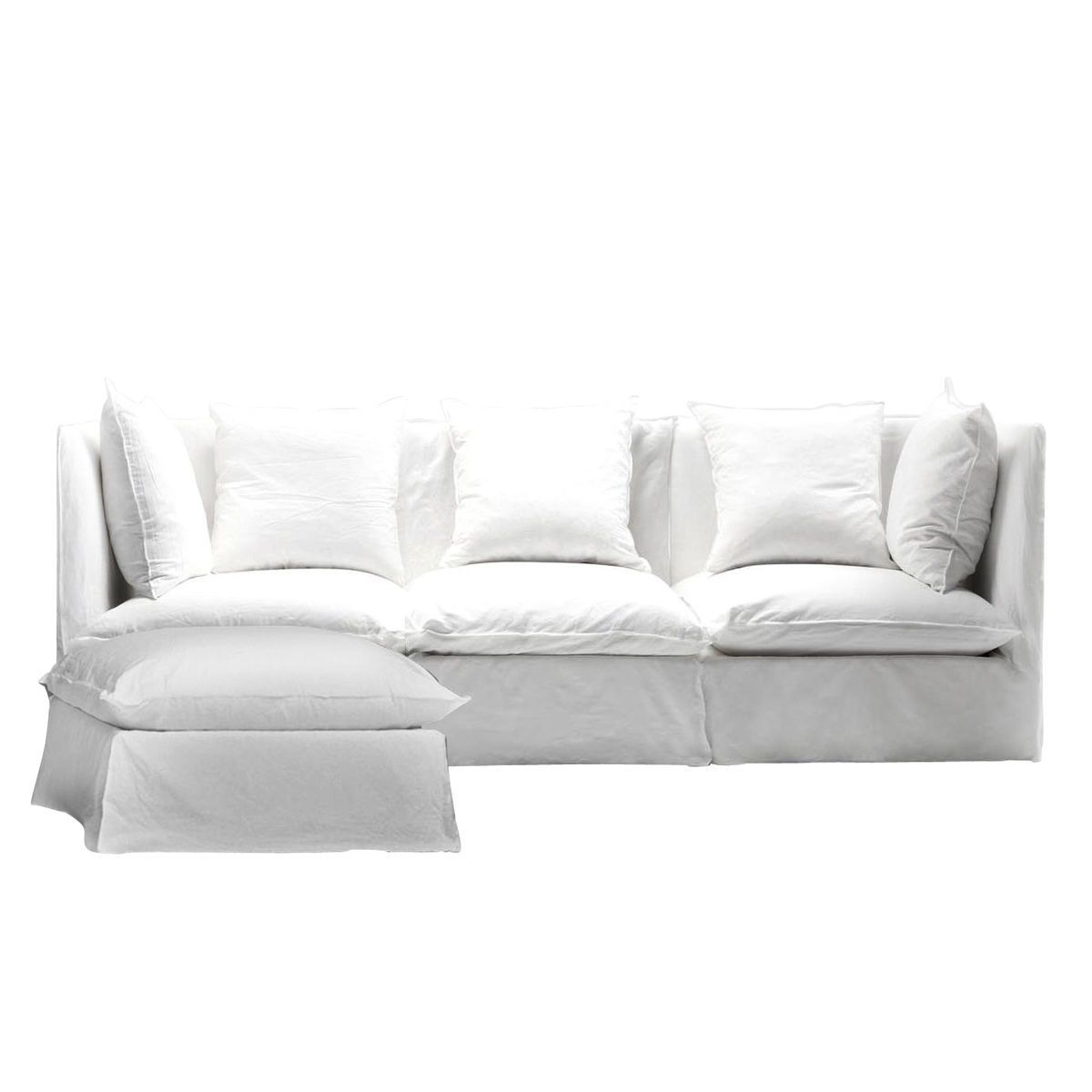 ghost sofa ottoman gervasoni paola navone. Black Bedroom Furniture Sets. Home Design Ideas