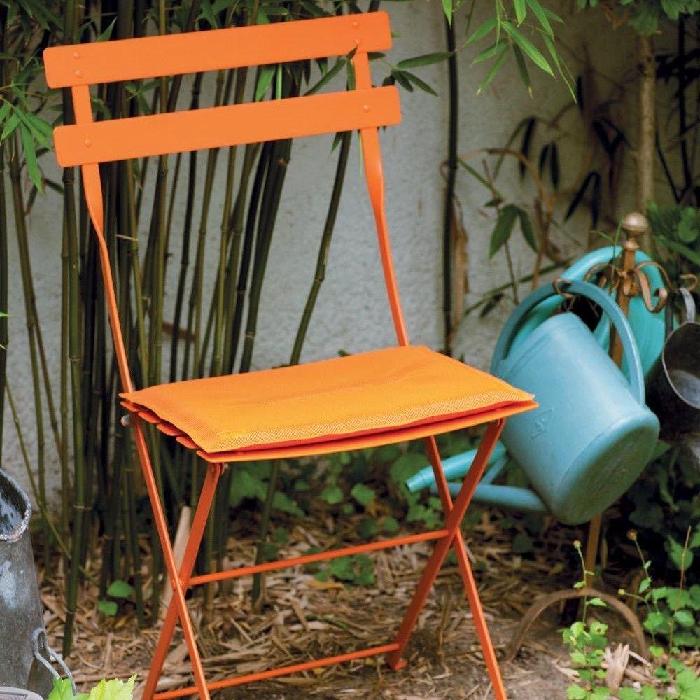 bistro metall chaise pliante fermob. Black Bedroom Furniture Sets. Home Design Ideas