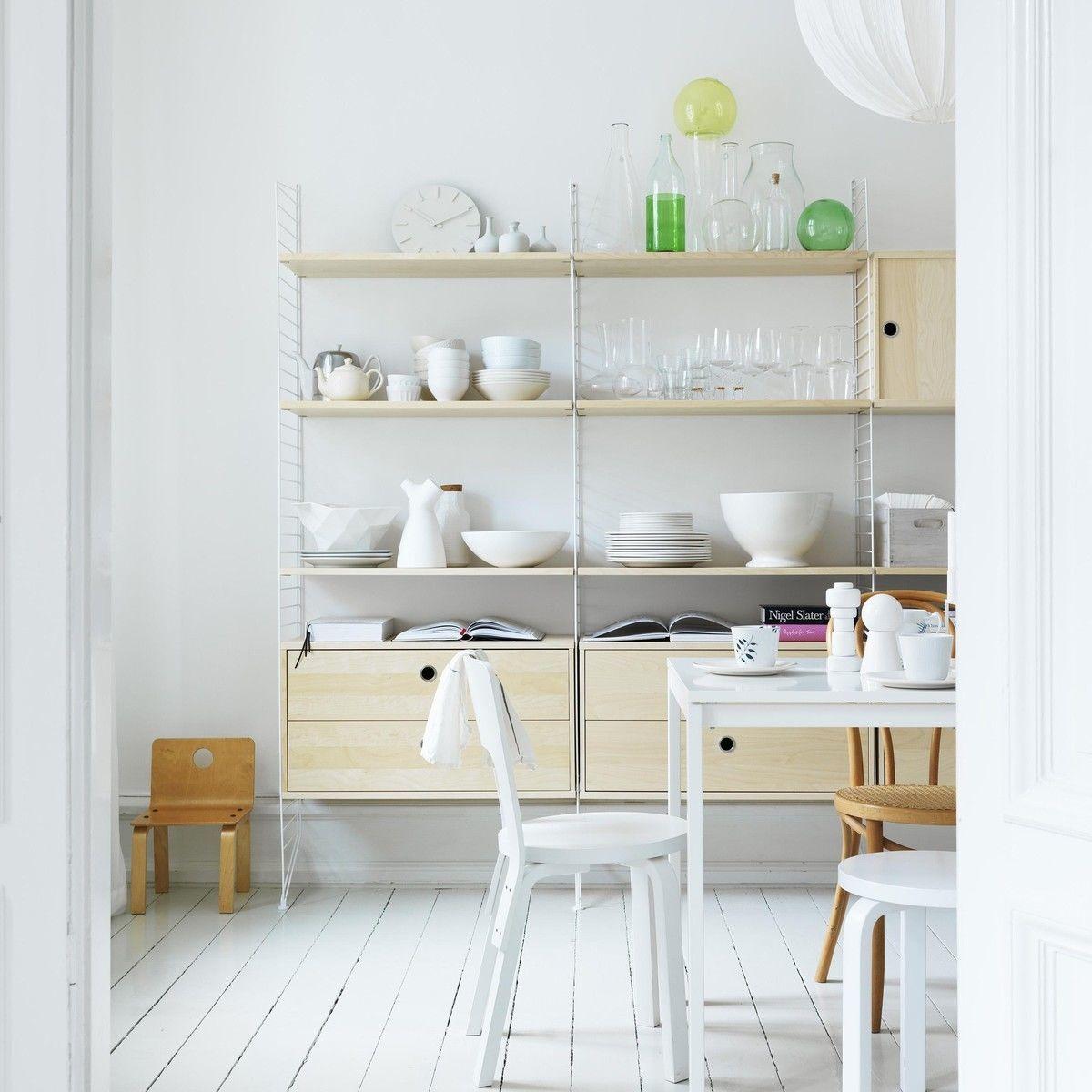 String armoire murale avec tiroirs string armoires casiers de rangeme - Armoire de rangement murale ...