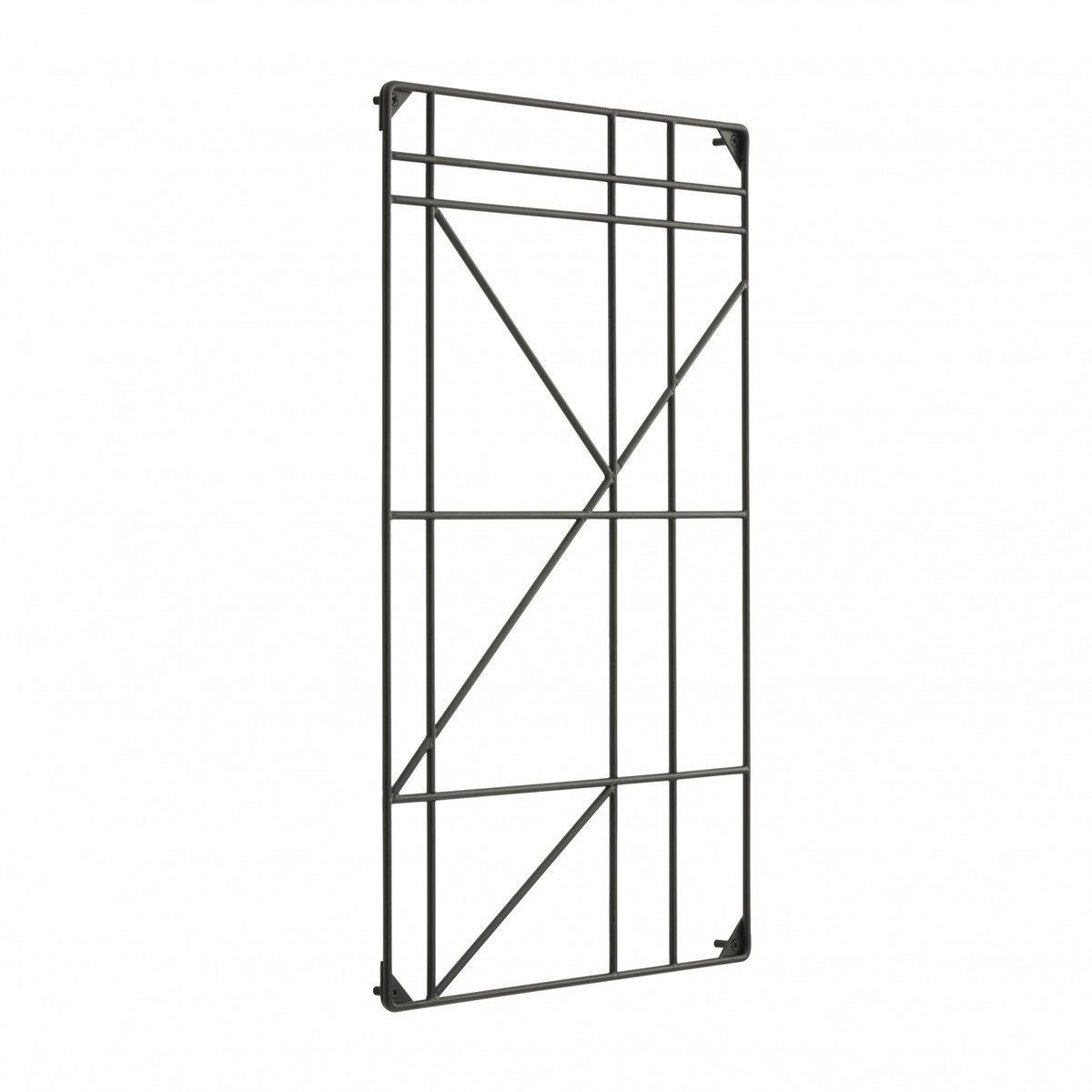 Square rack estanter a para colgar ferm living for Estanteria colgar pared