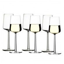 iittala - Essence White Wine Glass Set of 6