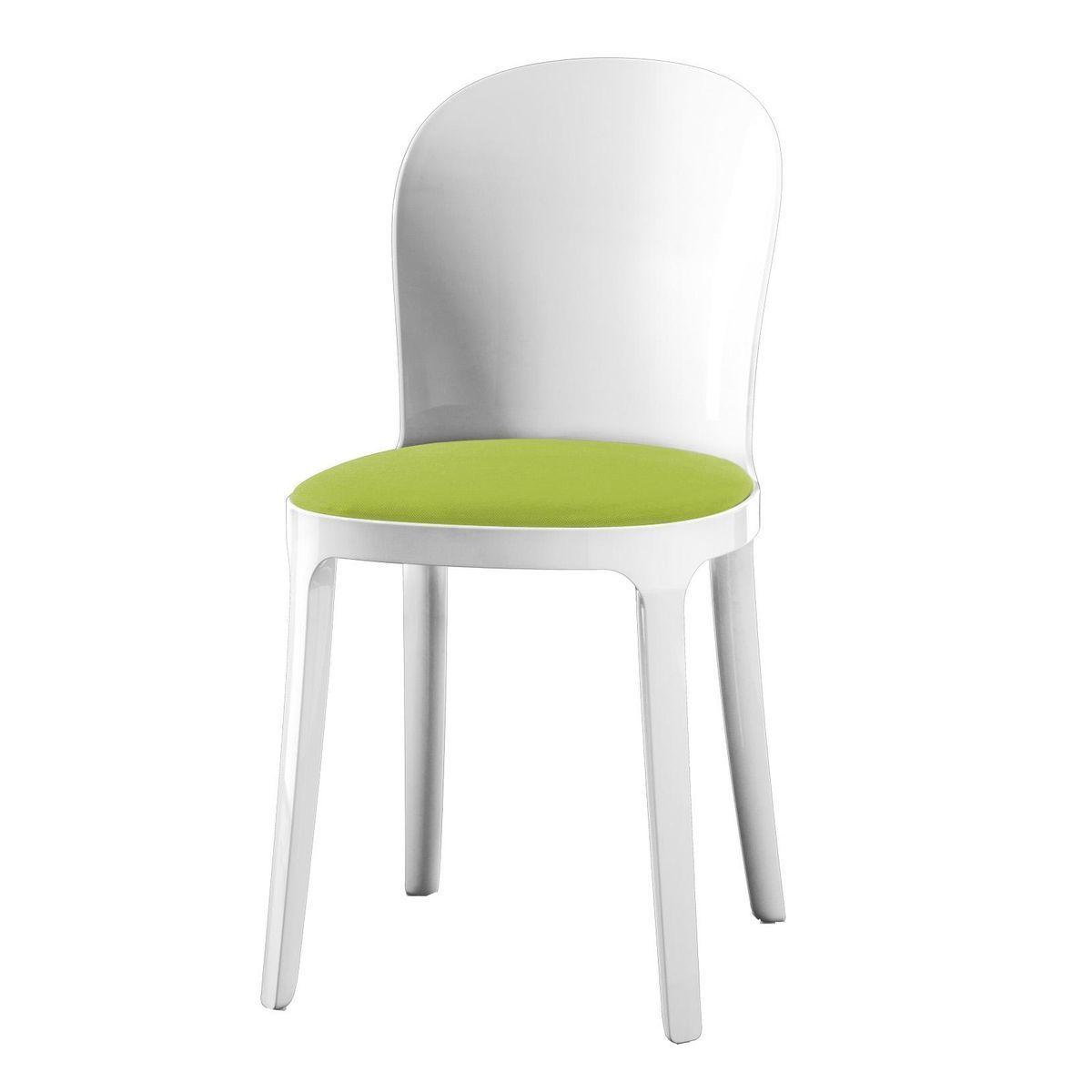 Vanity chair silla blanca magis for Sillas para vanity