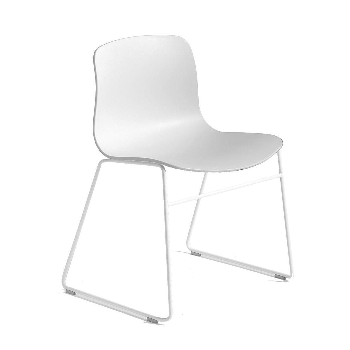 About a chair 08 stuhl mit kufen gestell wei hay for Design stuhl mit kufen