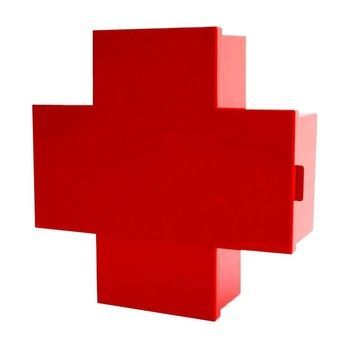 Cappellini - Cross - Armario de primeros auxilios - rojo/brillante/43.5x15.5x45cm