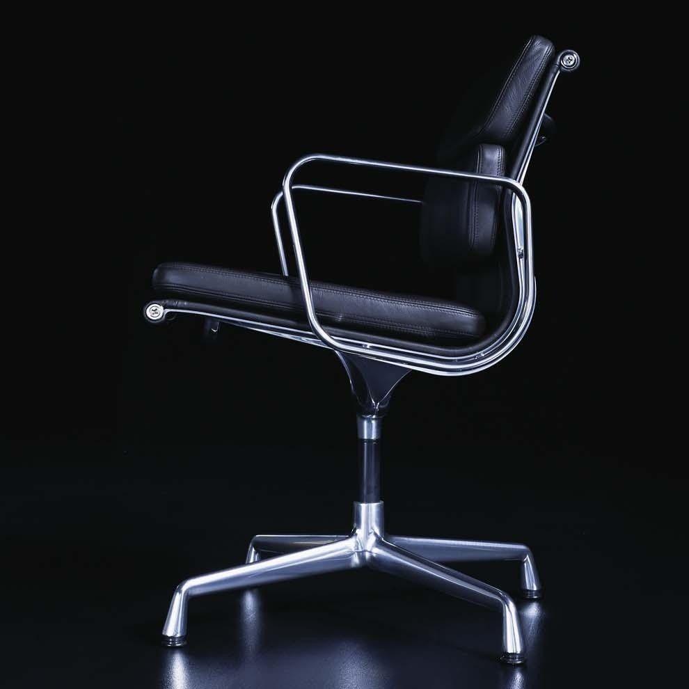 ea 208 soft pad eames alu chair office chair vitra