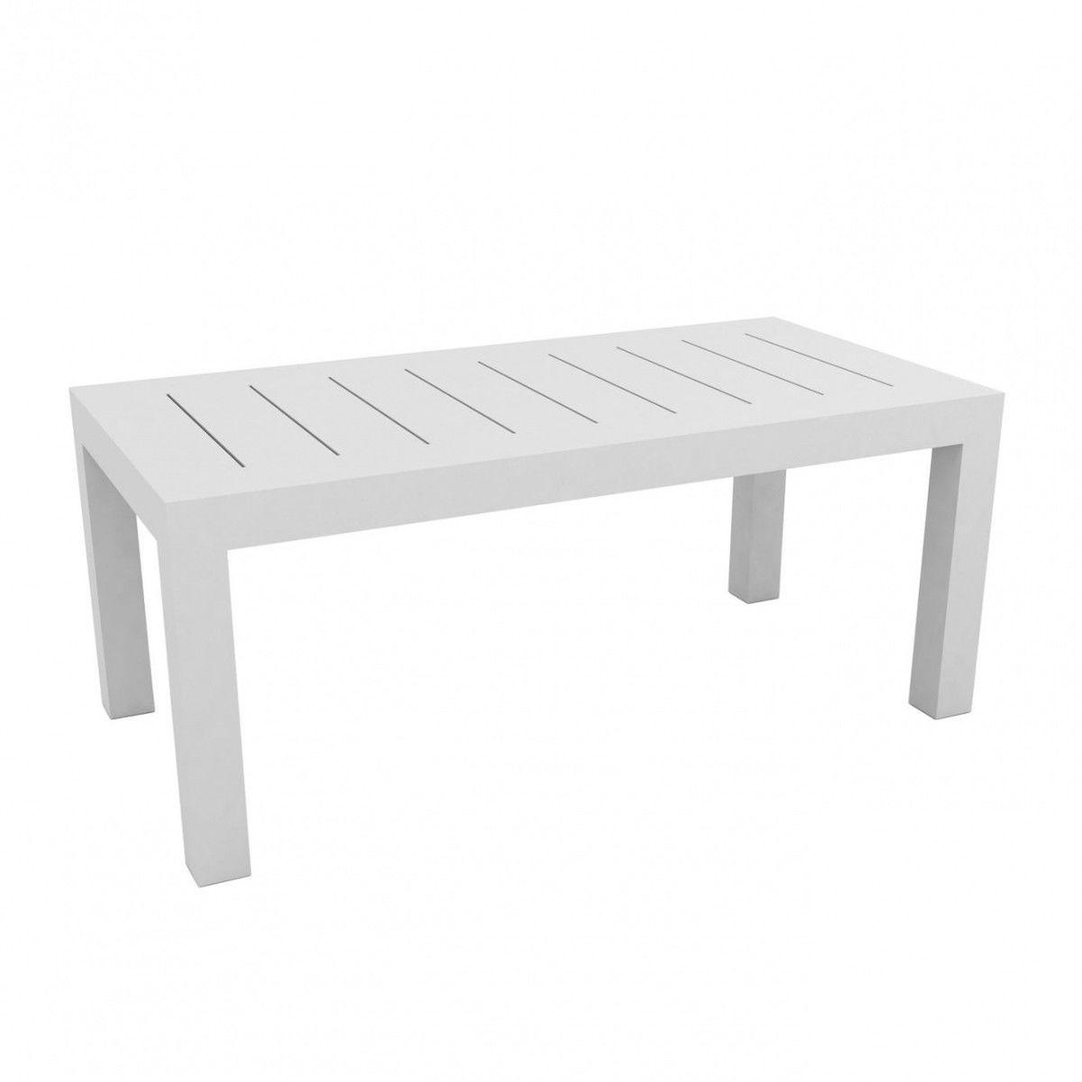 jut table 180cm vondom meubles de jardin en plastique. Black Bedroom Furniture Sets. Home Design Ideas