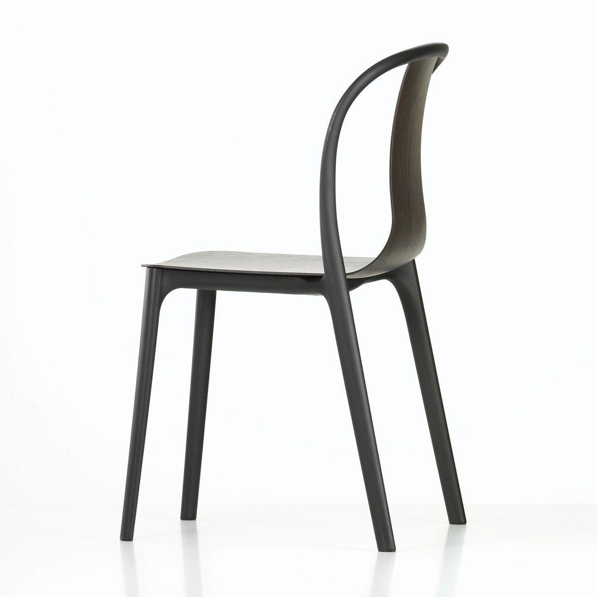 Belleville chair plastic chaise de jardin vitra - Chaise de jardin pvc ...