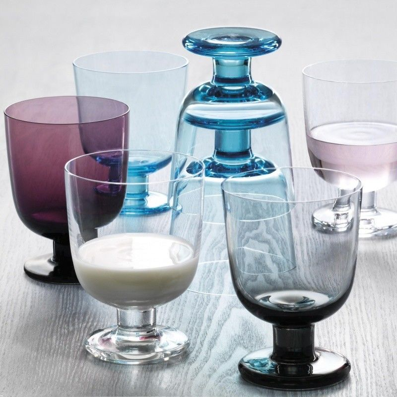 iittala lempi glas mit fu 2er set iittala. Black Bedroom Furniture Sets. Home Design Ideas