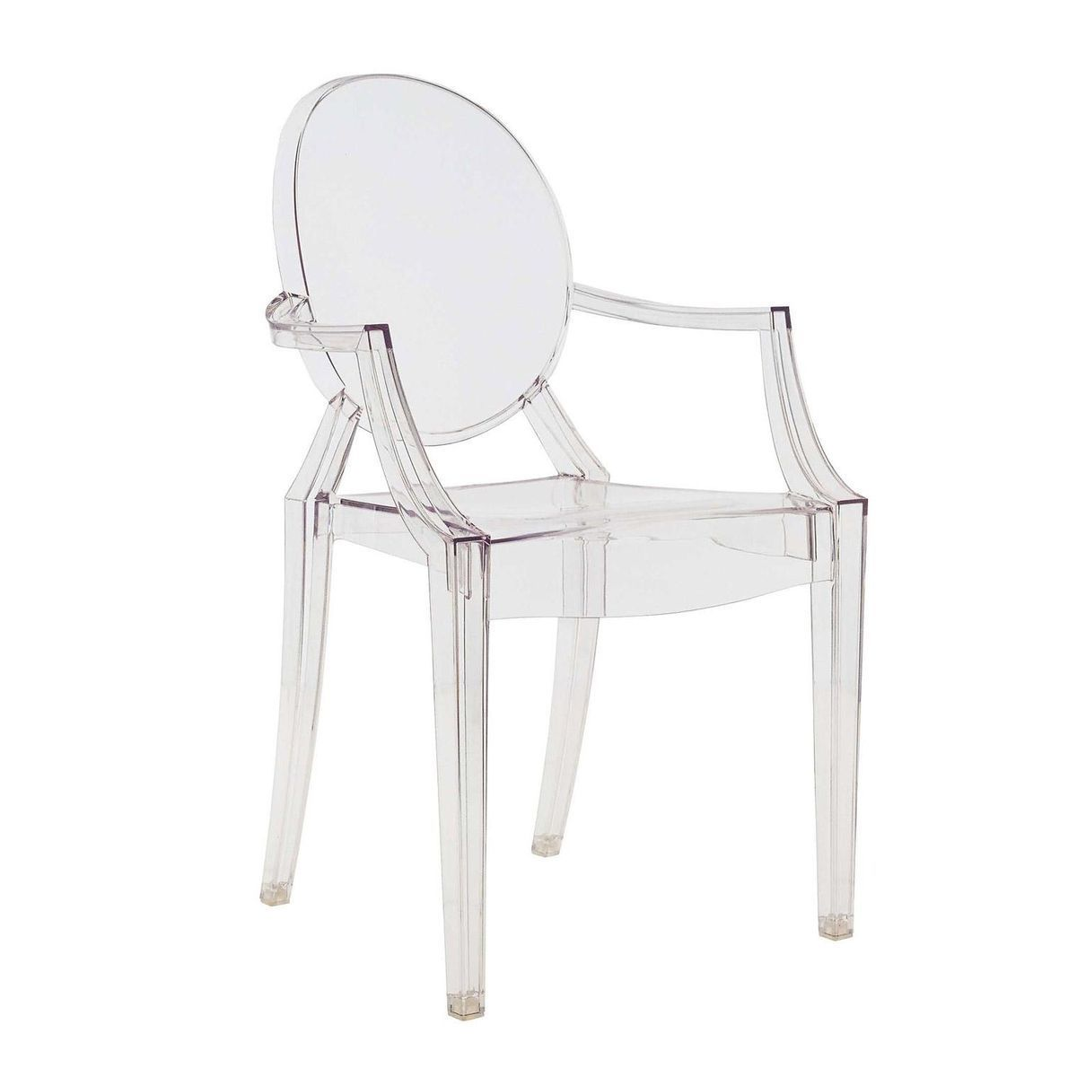 louis ghost armchair  kartell  armchairs  seating furniture  - kartell  louis ghost armlehnstuhl  glasklartransparent