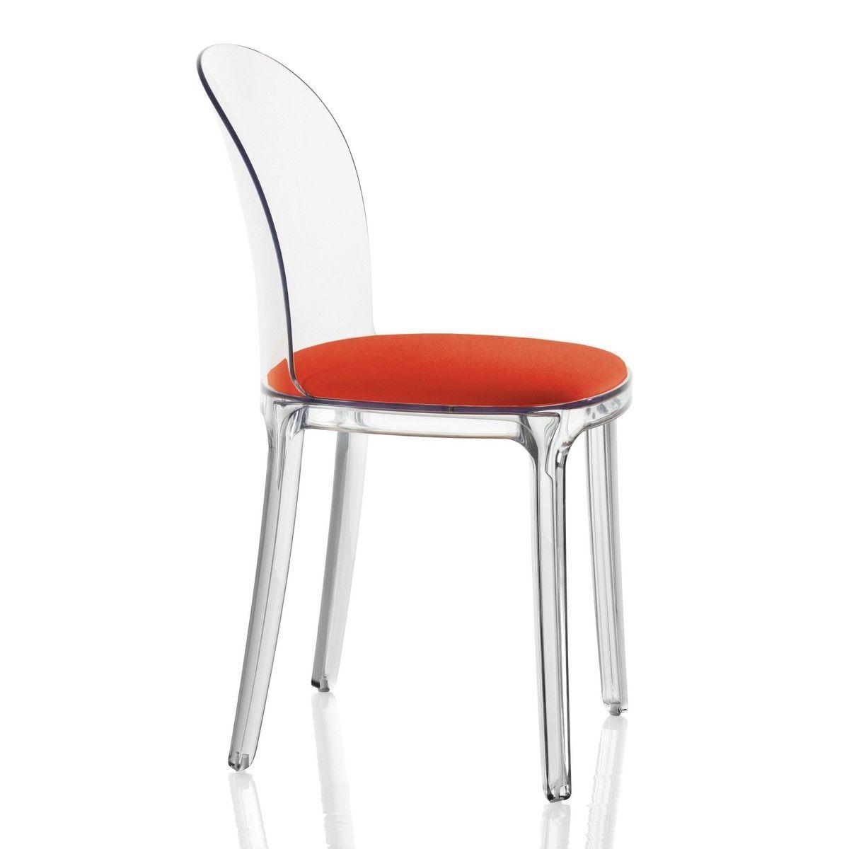 Vanity chair transparent magis - Chaise baroque transparente ...