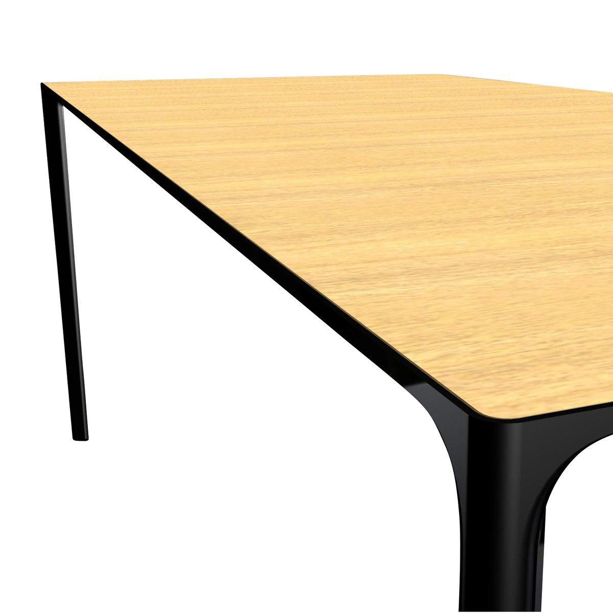 nuur dining table 200x100cm arper. Black Bedroom Furniture Sets. Home Design Ideas