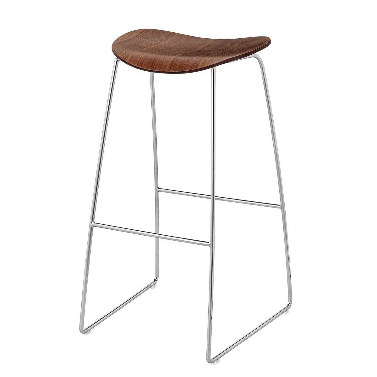 Gubi 2d bar stool barhocker mit kufengestell gubi for Barhocker 2d cad