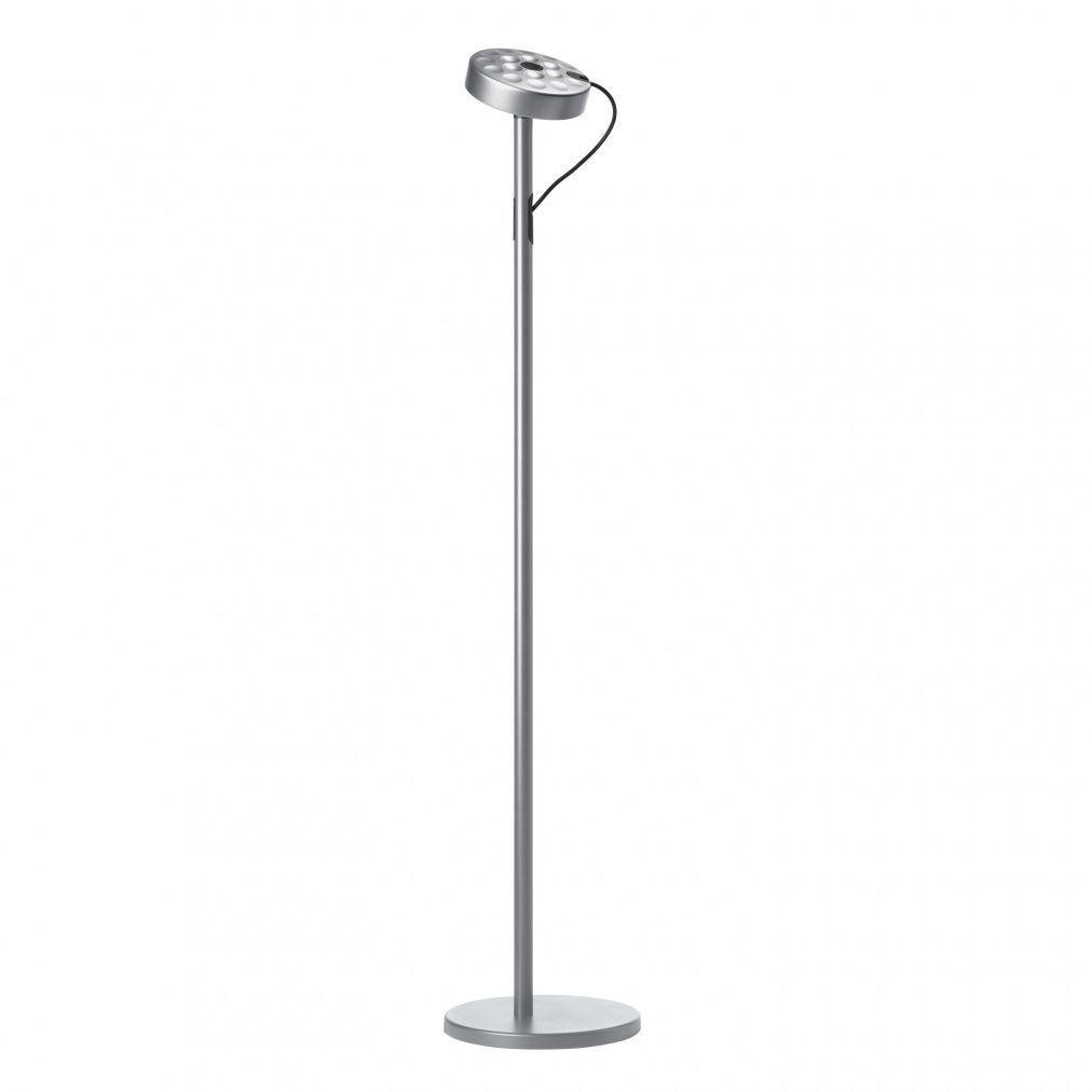 U turn 10 led floor lamp belux ambientedirectcom for White floor lamp with dimmer