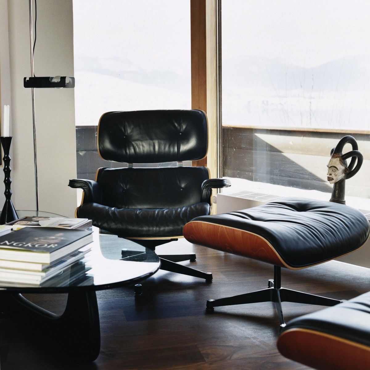 eames lounge chair xl neue ma e ottoman vitra. Black Bedroom Furniture Sets. Home Design Ideas