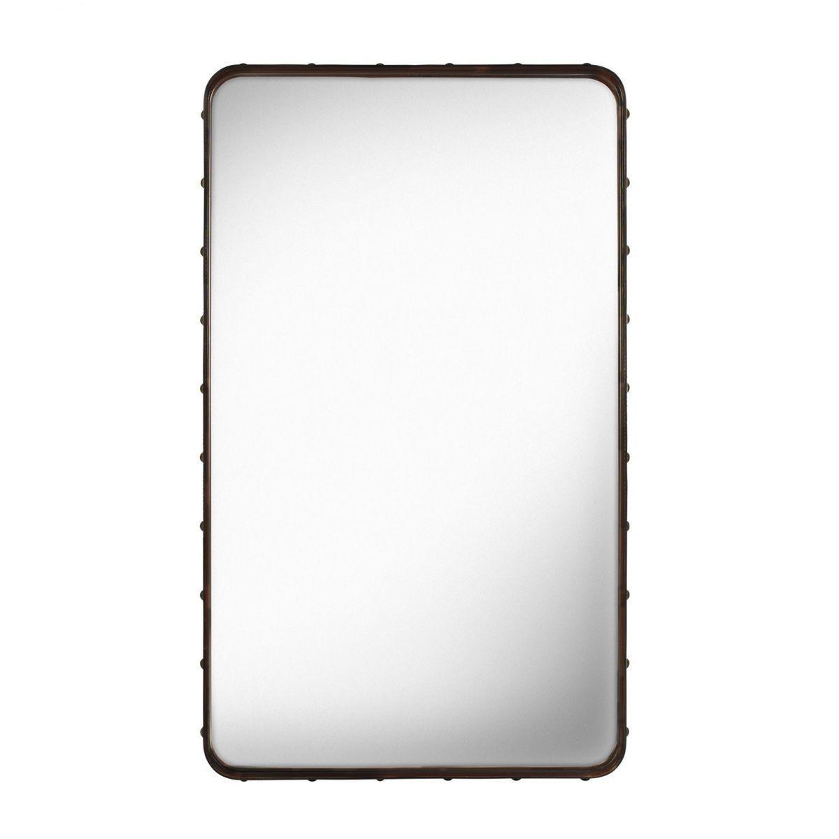 Adnet rectangular mirror gubi for Rectangle mirror