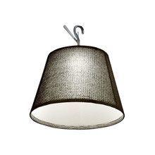 Artemide - Tolomeo Paralume LED Suspension Lamp w. Hook