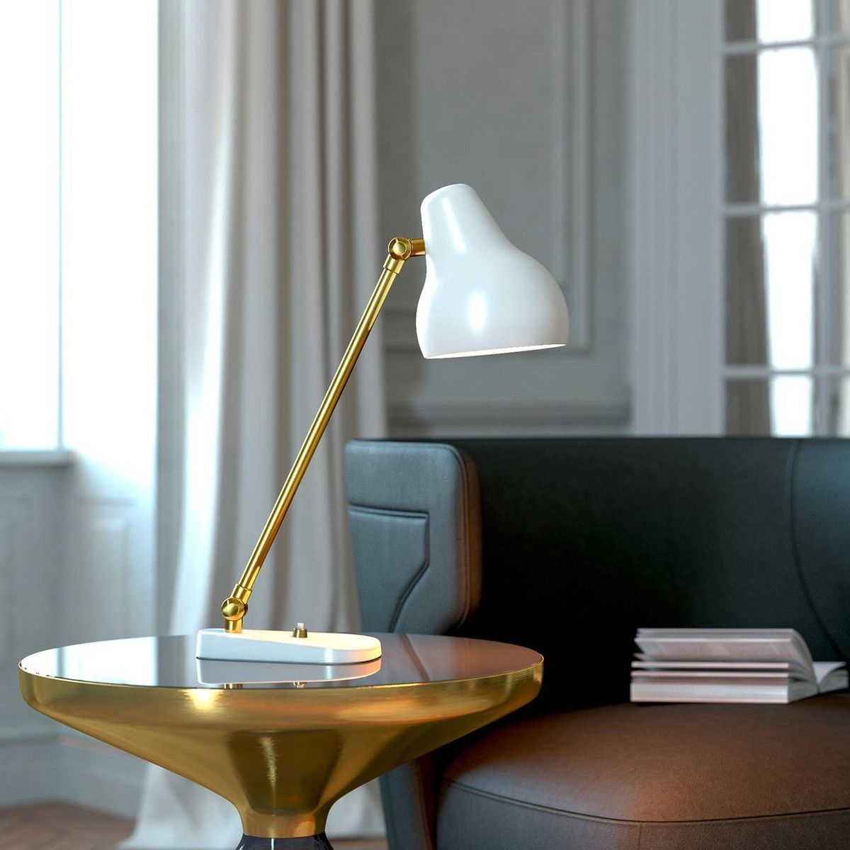 vl38 led table lamp louis poulsen. Black Bedroom Furniture Sets. Home Design Ideas