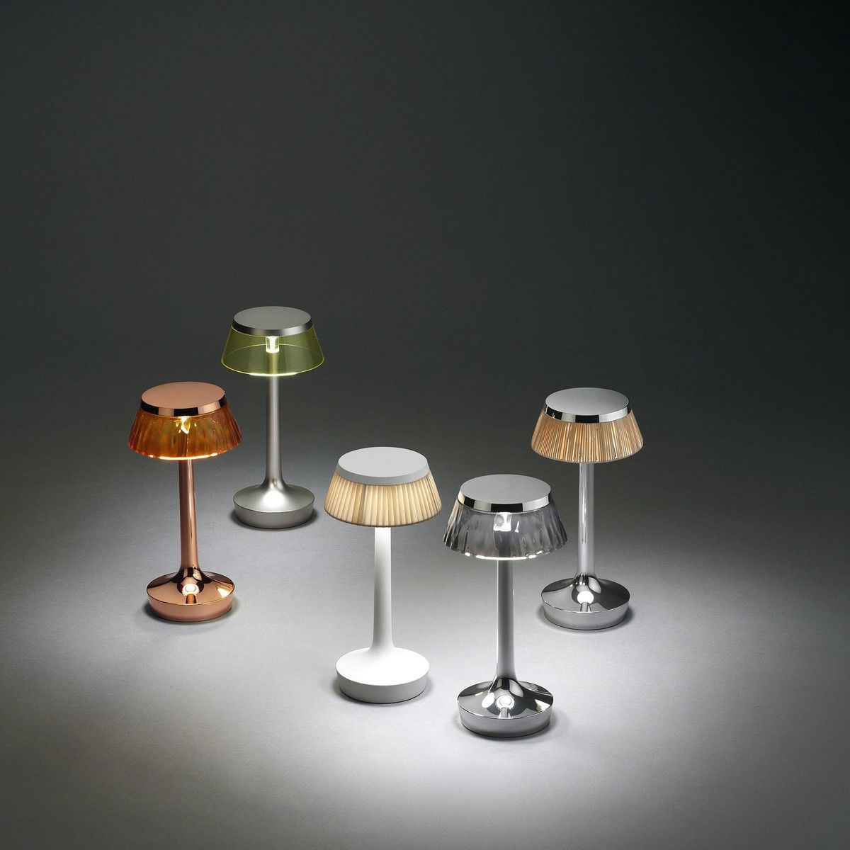 bon jour unplugged led lampe de table flos. Black Bedroom Furniture Sets. Home Design Ideas