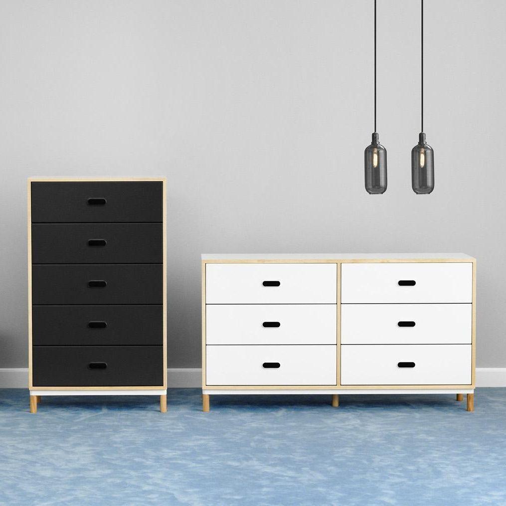 kabino kommode mit 6 schubladen normann copenhagen sideboards aufbewahrung m bel. Black Bedroom Furniture Sets. Home Design Ideas