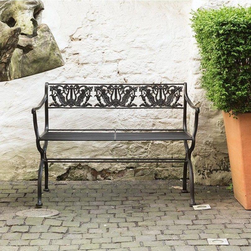 tecta d60 2 banc de jardin schinkel tecta bancs meubles d 39 assise mobilier. Black Bedroom Furniture Sets. Home Design Ideas