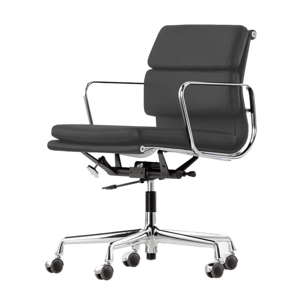 Ea 217 soft pad eames alu chair office chair vitra for Eames schreibtischstuhl