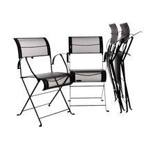 Fermob - Dune Set Folding Armchair 4 pieces