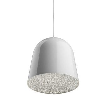 Flos - Can Can suspension Lamp - white/transparent