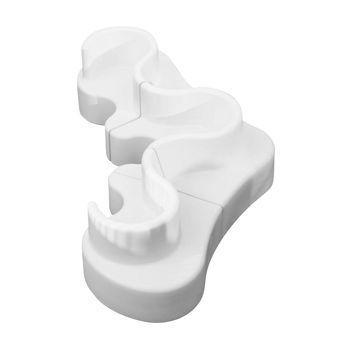 VerPan - Cloverleaf In/Outdoor Sofa 371x158x80cm - weiß/3 Elemente/UV-beständig/100% recyclebar
